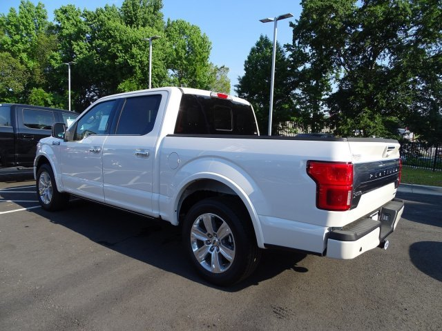 2019 Ford F-150 Platinum RWD Automatic Twin Turbo Regular Unleaded V-6 3.5 L/213 Engine Truck 4 Door