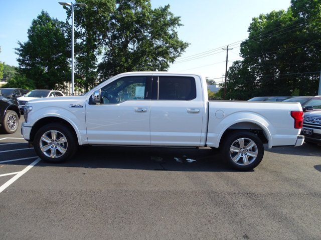 2019 Ford F-150 Platinum RWD 4 Door Twin Turbo Regular Unleaded V-6 3.5 L/213 Engine Truck