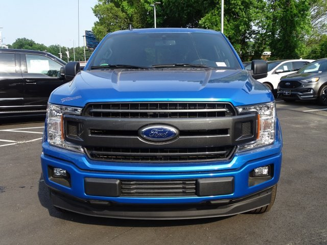 2019 Velocity Blue Metallic Ford F-150 XLT Regular Unleaded V-8 5.0 L/302 Engine Automatic 4 Door Truck RWD