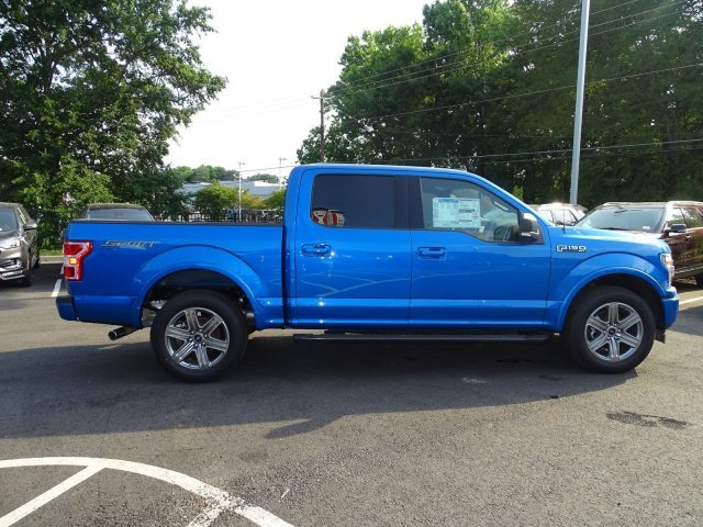 2019 Velocity Blue Metallic Ford F-150 XLT Truck Automatic 4 Door Regular Unleaded V-8 5.0 L/302 Engine RWD