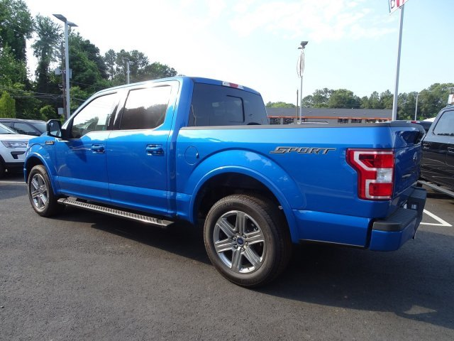 2019 Velocity Blue Metallic Ford F-150 XLT Truck Automatic RWD Regular Unleaded V-8 5.0 L/302 Engine