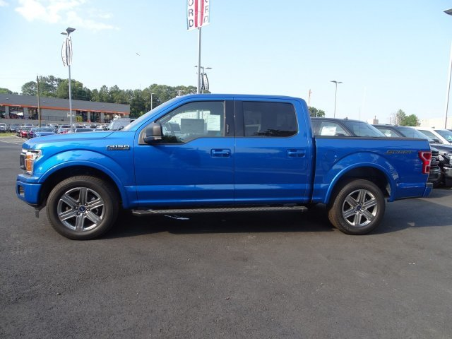 2019 Ford F-150 XLT Automatic Regular Unleaded V-8 5.0 L/302 Engine 4 Door