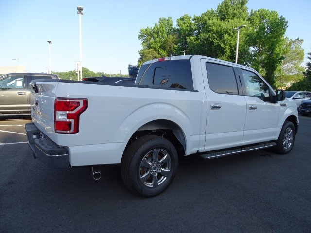 2019 Oxford White Ford F-150 XLT RWD Regular Unleaded V-8 5.0 L/302 Engine Automatic