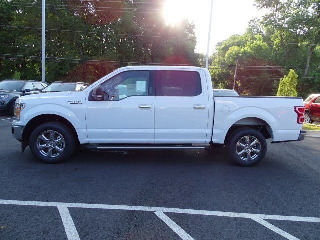 2019 Oxford White Ford F-150 XLT Truck Regular Unleaded V-8 5.0 L/302 Engine Automatic 4 Door RWD