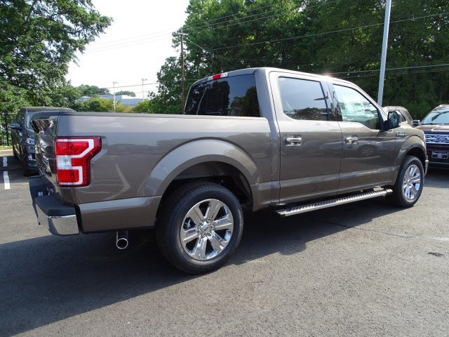 2019 Stone Gray Metallic Ford F-150 XLT Truck Regular Unleaded V-8 5.0 L/302 Engine 4 Door RWD