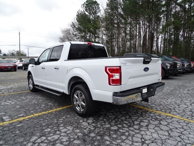 2019 Oxford White Ford F-150 XLT Twin Turbo Regular Unleaded V-6 2.7 L/164 Engine Automatic RWD Truck 4 Door