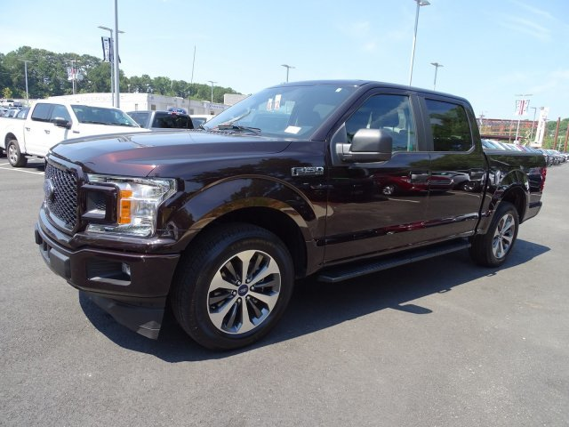 2019 Magma Red Metallic Ford F-150 XL Twin Turbo Regular Unleaded V-6 2.7 L/164 Engine RWD 4 Door Automatic Truck