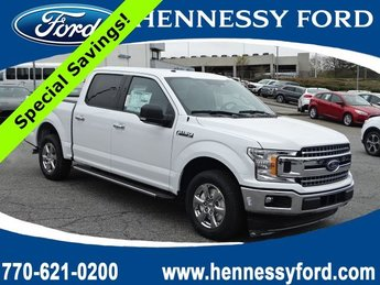 2018 Oxford White Ford F-150 XLT Twin Turbo Regular Unleaded V-6 2.7 L/164 Engine Truck 4 Door