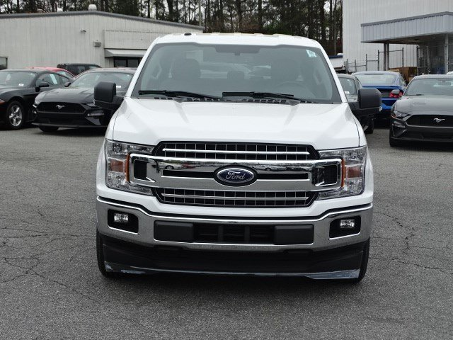2018 Oxford White Ford F-150 XLT RWD Twin Turbo Regular Unleaded V-6 2.7 L/164 Engine Automatic