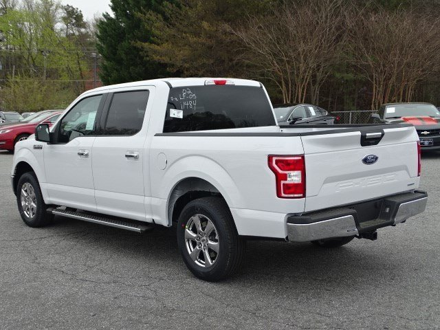2018 Oxford White Ford F-150 XLT RWD Automatic 4 Door