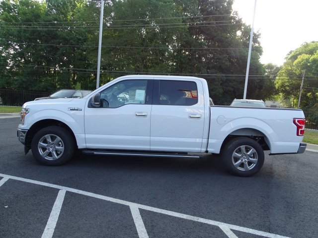 2018 Oxford White Ford F-150 XLT Truck Twin Turbo Regular Unleaded V-6 2.7 L/164 Engine RWD 4 Door