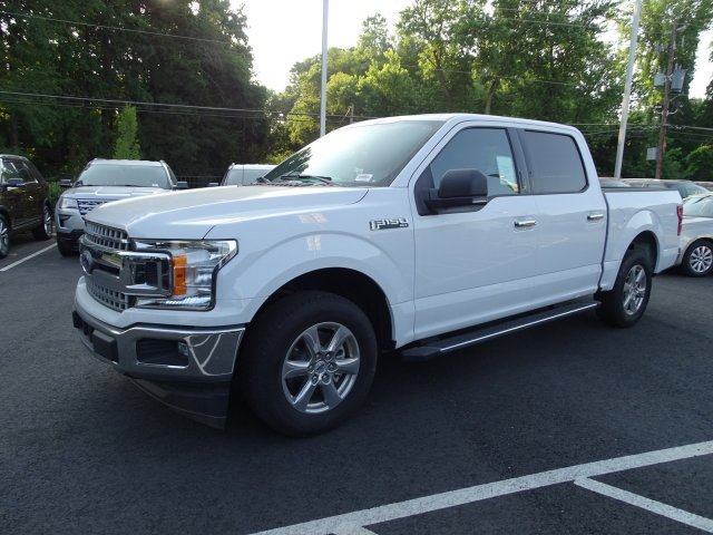 2018 Oxford White Ford F-150 XLT Twin Turbo Regular Unleaded V-6 2.7 L/164 Engine Truck RWD Automatic