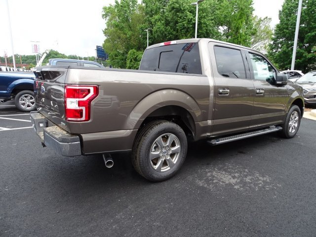 2019 Stone Gray Metallic Ford F-150 XLT Twin Turbo Regular Unleaded V-6 2.7 L/164 Engine Automatic Truck RWD