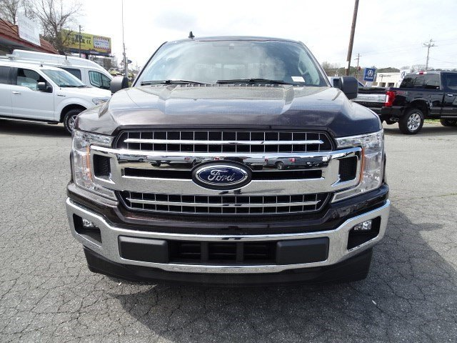 2019 Magma Red Metallic Ford F-150 XLT Truck RWD Automatic Twin Turbo Regular Unleaded V-6 2.7 L/164 Engine 4 Door