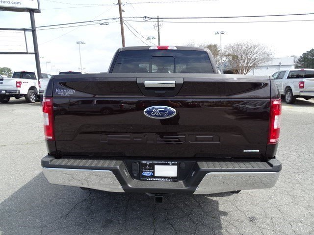 2019 Magma Red Metallic Ford F-150 XLT RWD Truck Automatic Twin Turbo Regular Unleaded V-6 2.7 L/164 Engine 4 Door