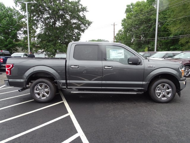 2019 Magnetic Metallic Ford F-150 XLT Truck RWD Twin Turbo Regular Unleaded V-6 2.7 L/164 Engine