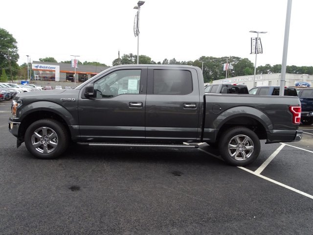 2019 Magnetic Metallic Ford F-150 XLT 4 Door RWD Twin Turbo Regular Unleaded V-6 2.7 L/164 Engine