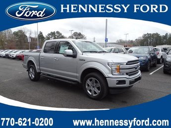 2019 Ingot Silver Metallic Ford F-150 LARIAT Twin Turbo Regular Unleaded V-6 3.5 L/213 Engine Truck Automatic