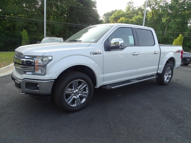 2019 White Platinum Metallic Tri-Coat Ford F-150 LARIAT Automatic 4 Door Twin Turbo Regular Unleaded V-6 3.5 L/213 Engine 4X4