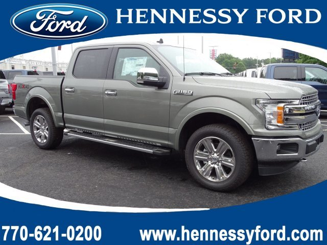 2019 Silver Spruce Metallic Ford F-150 LARIAT 4X4 Twin Turbo Regular Unleaded V-6 3.5 L/213 Engine Automatic Truck 4 Door