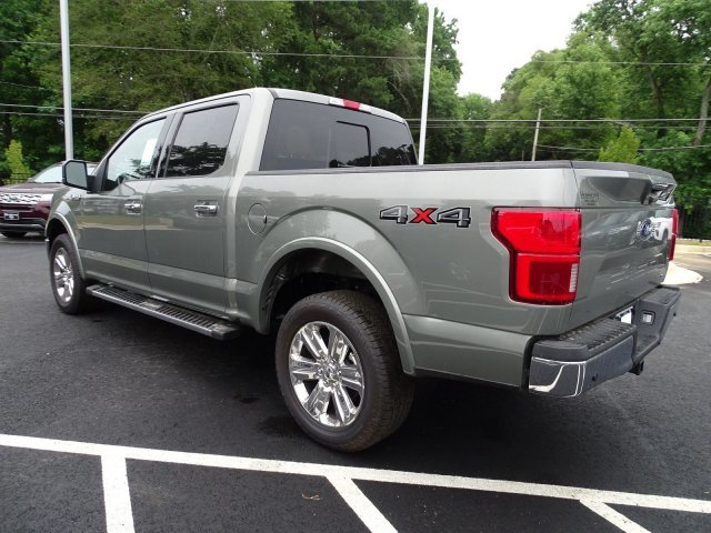 2019 Silver Spruce Metallic Ford F-150 LARIAT 4 Door 4X4 Twin Turbo Regular Unleaded V-6 3.5 L/213 Engine
