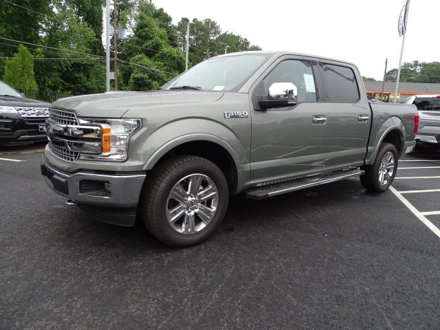 2019 Silver Spruce Metallic Ford F-150 LARIAT Truck Automatic 4X4 Twin Turbo Regular Unleaded V-6 3.5 L/213 Engine 4 Door