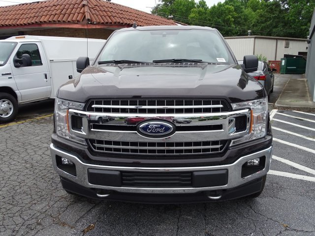 2019 Magma Red Metallic Ford F-150 XLT 4 Door Automatic Regular Unleaded V-8 5.0 L/302 Engine 4X4