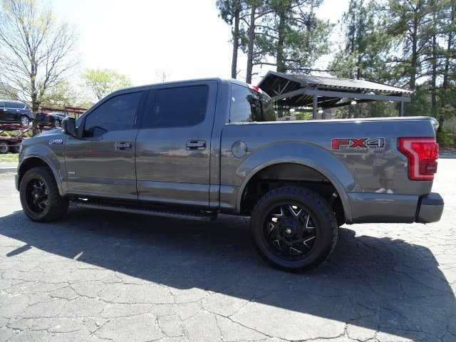 2016 Ford F-150 Lariat Twin Turbo Regular Unleaded V-6 3.5 L/213 Engine Automatic 4 Door