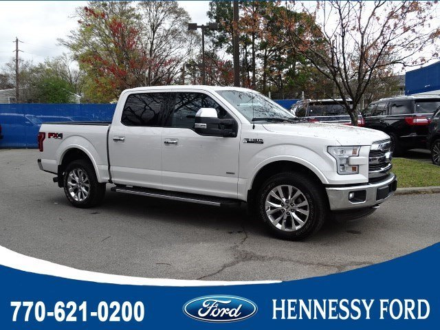 2016 Ruby Red Metallic Tinted Clearcoat Ford F-150 Lariat 4 Door 4X4 Automatic Truck Twin Turbo Regular Unleaded V-6 3.5 L/213 Engine