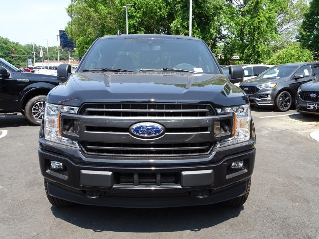 2019 Agate Black Metallic Ford F-150 XLT Truck Twin Turbo Regular Unleaded V-6 2.7 L/164 Engine Automatic 4X4 4 Door