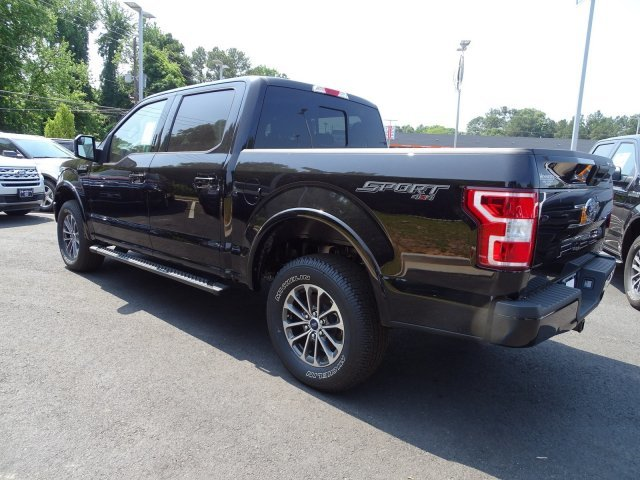 2019 Agate Black Metallic Ford F-150 XLT 4 Door 4X4 Twin Turbo Regular Unleaded V-6 2.7 L/164 Engine