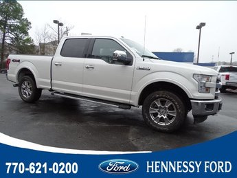 2017 Ruby Red Metallic Tinted Clearcoat Ford F-150 Lariat Automatic Truck 4X4 Regular Unleaded V-8 5.0 L/302 Engine 4 Door