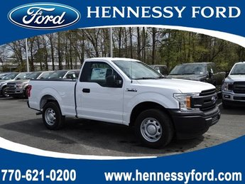 2019 Oxford White Ford F-150 XL RWD 2 Door Regular Unleaded V-6 3.3 L Engine Truck Automatic