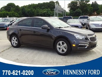 2015 Tungsten Metallic Chevy Cruze LT Turbocharged Gas I4 1.4L/83 Engine Sedan FWD 4 Door