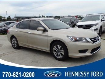 2014 Champagne Frost Pearl Honda Accord Sedan LX Sedan Automatic (CVT) Regular Unleaded I-4 2.4 L/144 Engine 4 Door