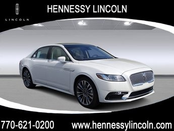 2019 White Platinum Metallic Tri-Coat Lincoln Continental Reserve Twin Turbo Unleaded V-6 2.7 L/164 Engine Automatic 4 Door FWD Sedan