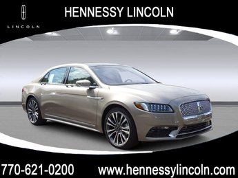 2019 Lincoln Continental Reserve Automatic Twin Turbo Unleaded V-6 2.7 L/164 Engine FWD