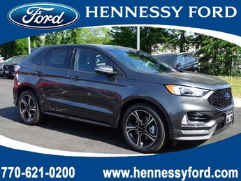 2019 Magnetic Metallic Ford Edge ST SUV 4 Door Twin Turbo Premium Unleaded V-6 2.7 L/164 Engine AWD