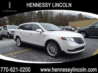 2019 White Platinum Metallic Tri-Coat Lincoln MKT 4 Door AWD SUV