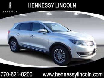2017 Lincoln MKX Select Twin Turbo Premium Unleaded V-6 2.7 L/164 Engine FWD Automatic SUV