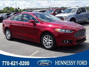 2016 Ruby Red Metallic Tinted Clearcoat Ford Fusion SE 4 Door Intercooled Turbo Regular Unleaded I-4 1.5 L/91 Engine FWD Sedan