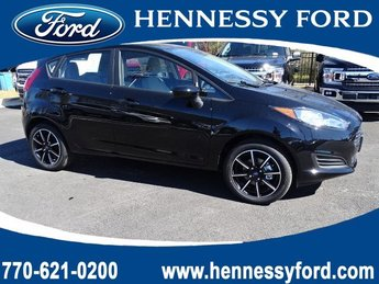 2019 Shadow Black Ford Fiesta SE Automatic 4 Door Hatchback