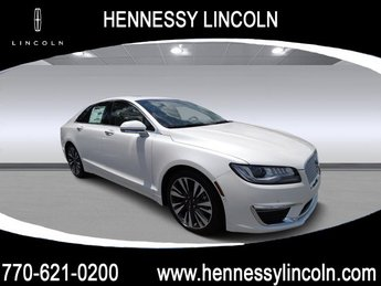 2018 White Platinum Metallic Tri-Coat Lincoln MKZ Reserve Automatic Sedan Intercooled Turbo Unleaded I-4 2.0 L/122 Engine 4 Door