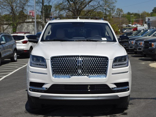 2019 White Platinum Metallic Tri-Coat Lincoln Navigator Reserve Twin Turbo Unleaded V-6 3.5 L/213 Engine SUV 4X4 Automatic