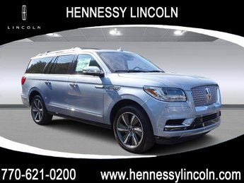 2019 Chroma Crystal Blue Metallic Lincoln Navigator L Black Label Automatic 4X4 Twin Turbo Unleaded V-6 3.5 L/213 Engine SUV 4 Door