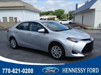 2018 Toyota Corolla LE Automatic (CVT) 4 Door FWD