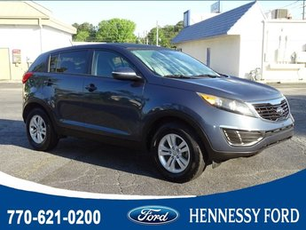2011 Twilight Blue Kia Sportage LX Gas I4 2.4L/144 Engine Automatic 4 Door FWD