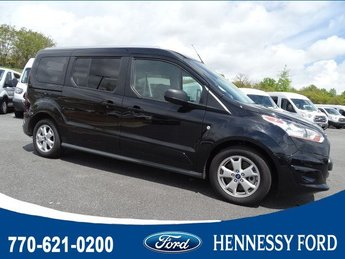 2018 Black Velvet Ford Transit Connect Wagon XLT FWD 4 Door Van Automatic