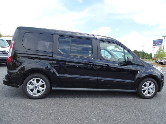 2018 Black Velvet Ford Transit Connect Wagon XLT FWD Automatic 4 Door