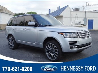 2014 Indus Silver Metallic Land Rover Range Rover Supercharged Autobiography Intercooled Supercharger Premium Unleaded V-8 5.0 L/305 Engine 4X4 Automatic